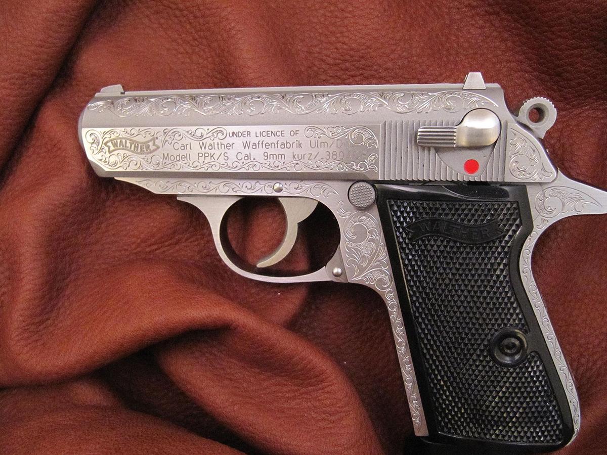 Semi-Automatic Pistols – The Gun Engraver