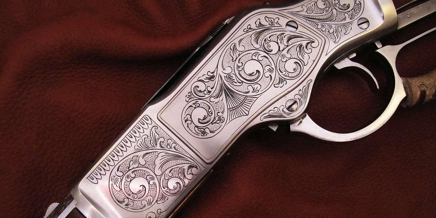 Lever Action Rifle Engraving