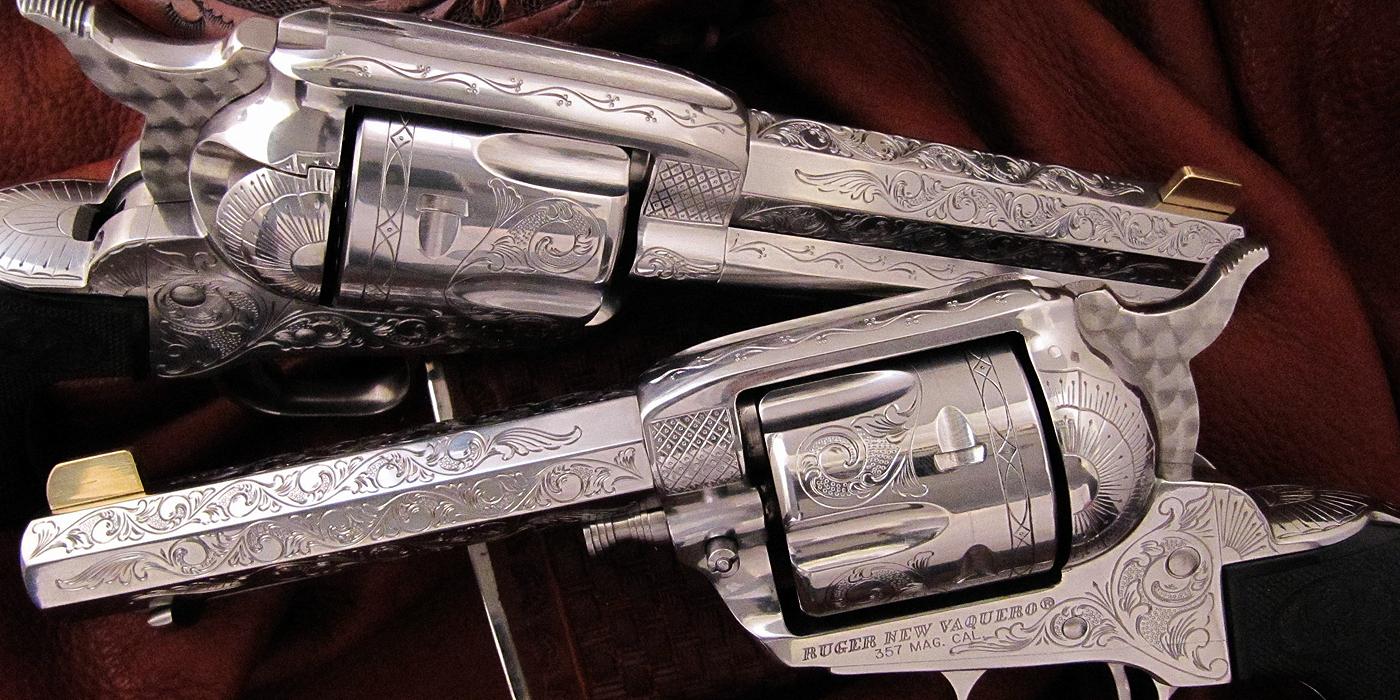 Single Action Revolver Engraving