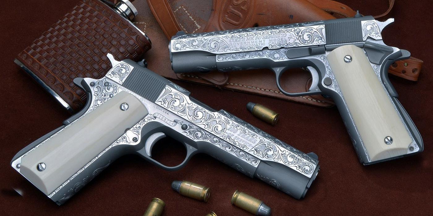 Semi Auto Pistol Engraving