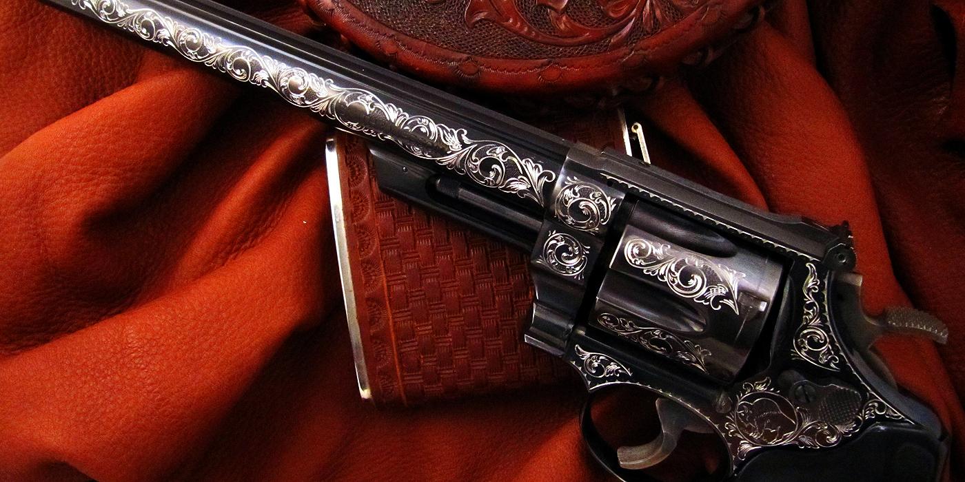 Double Action Revolver Engraving
